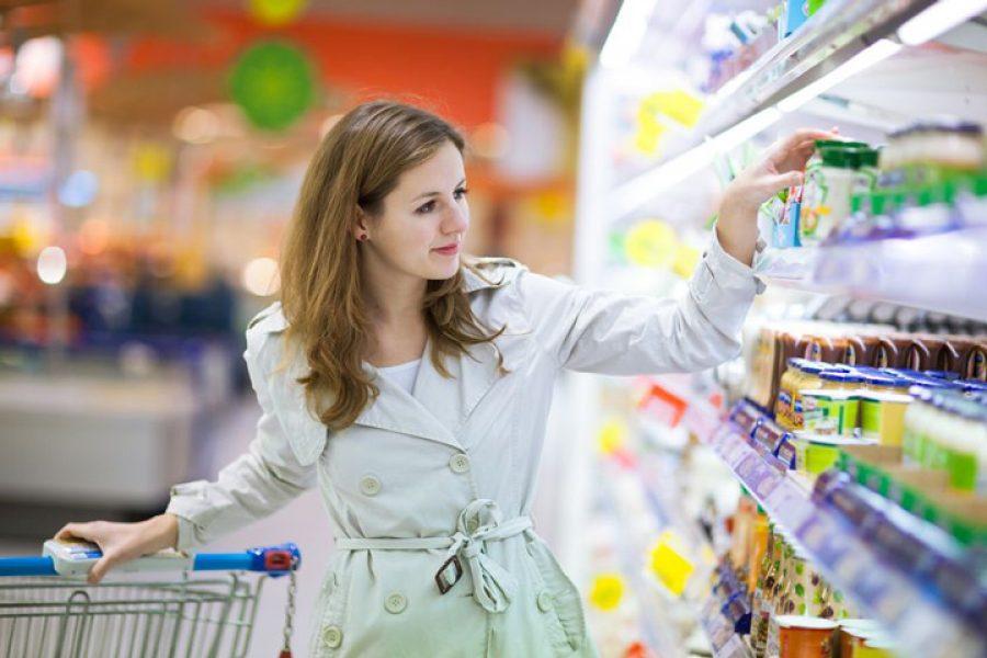 Im Auftrag der Neuro Merchandising Group aus Frankfurt entwickelt Klein Marketing ein grafisches Leitsystem für den Lebensmittelhandel.